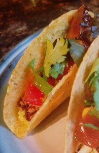 tofu chorizo tacos